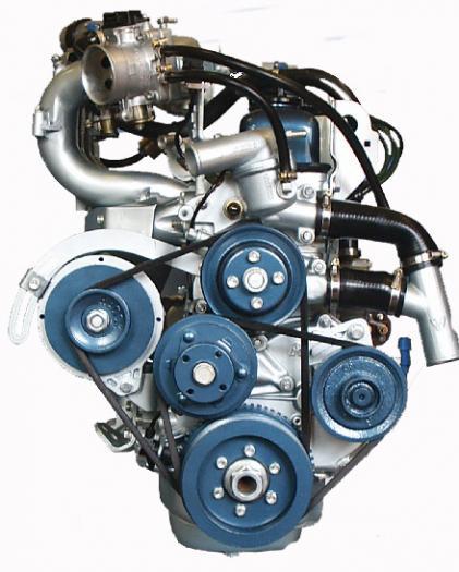 Ульяновский моторный завод группы ГАЗ приступил к серийному производству новых модификаций двигателя УМЗ-4216...