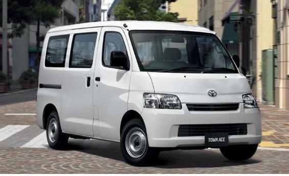 Грузовик Toyota Townace и минивен Liteace: смотри не перепутай!