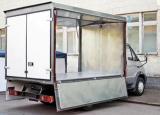 Изотермический кузов-фургон на шасси Валдай!