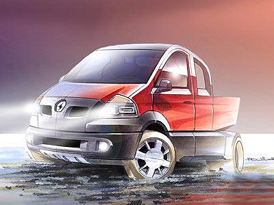 Концепция Малотоннажного Коммерческого Автомобиля от Renault Trucks